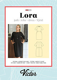 La Maison Victor patroon Lora jurk